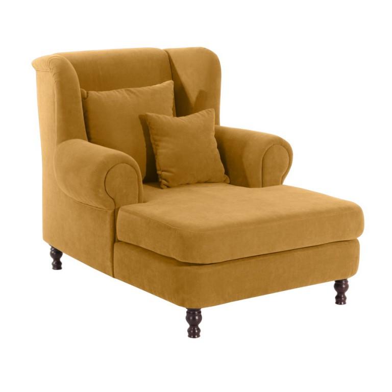 darlington longchair sofa sessel einzelsessel veloursstoff. Black Bedroom Furniture Sets. Home Design Ideas