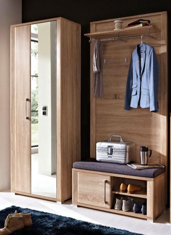 3 tlg go garderobenkombination garderobe garderobeset for Garderobe 3 tlg