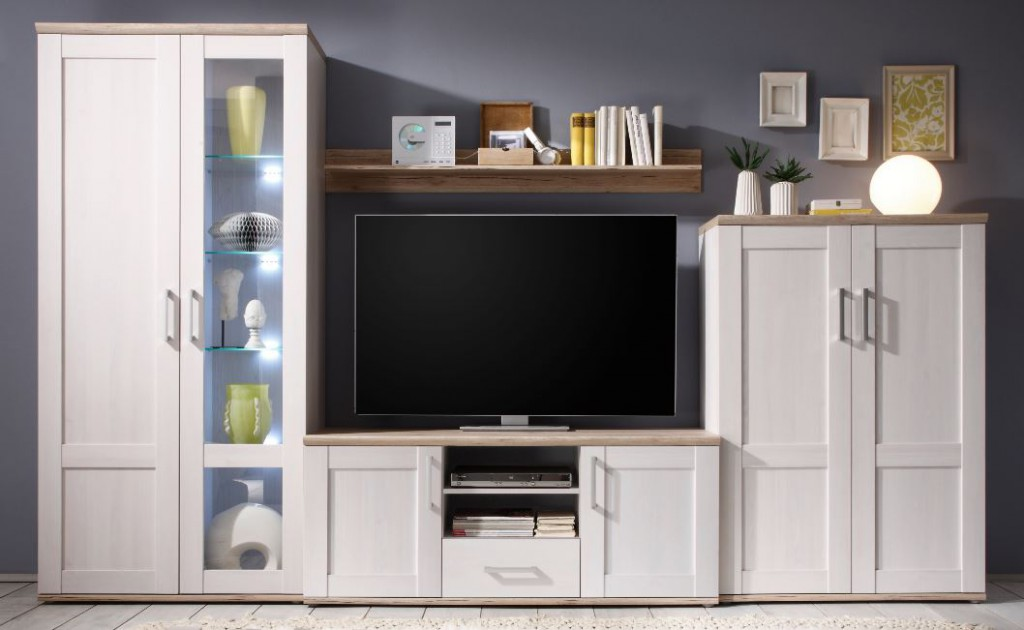 romance wohnwand anbauwand wohnzimmer wei sch ner wohnen wohnw nde. Black Bedroom Furniture Sets. Home Design Ideas
