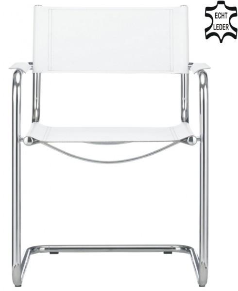 delta freischwinger klassiker besucherstuhl echt leder. Black Bedroom Furniture Sets. Home Design Ideas