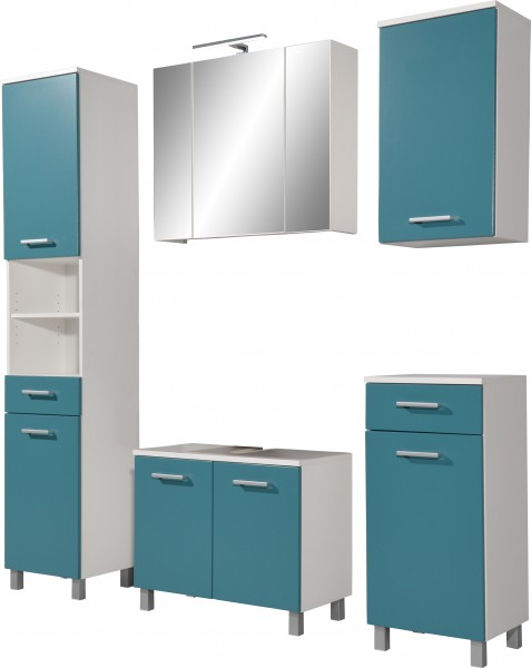 Badmöbel blau  Badezimmer Waschbeckenunterschrank: waschbecken unterschrank für ...