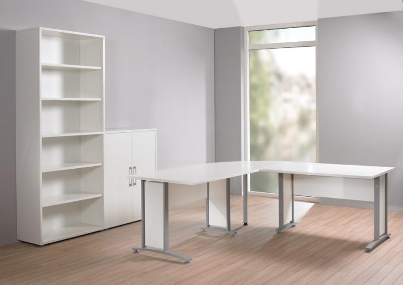 prima winkelkombination 200x200cm eckschreibtisch schreibtisch b ro wei b ro schreibtische. Black Bedroom Furniture Sets. Home Design Ideas
