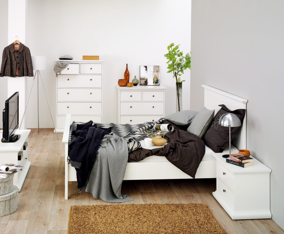 Paris kommode anrichte sideboard schlafzimmer eiche for Schlafzimmer kommode eiche