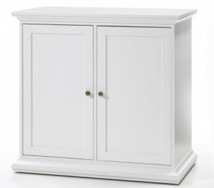 tvilum paris sideboard t renschrank kommode schrank anrichte regal wei sch ner wohnen. Black Bedroom Furniture Sets. Home Design Ideas