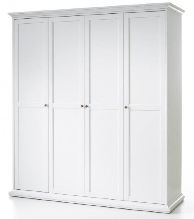 tvilum paris kleiderschrank 75354 garderobenschrank. Black Bedroom Furniture Sets. Home Design Ideas