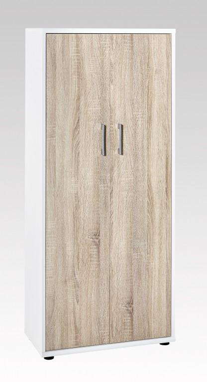 aktenschrank sideboard schiebet renschrank schrank 4 oh b roschrank eiche sonoma b ro stauraum. Black Bedroom Furniture Sets. Home Design Ideas