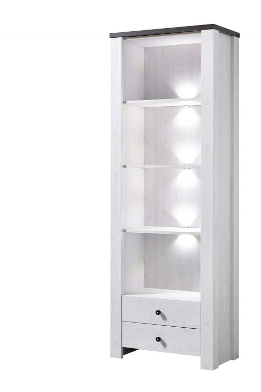 antwerpen regal l rche dekor b cherregal schrank vitrine. Black Bedroom Furniture Sets. Home Design Ideas