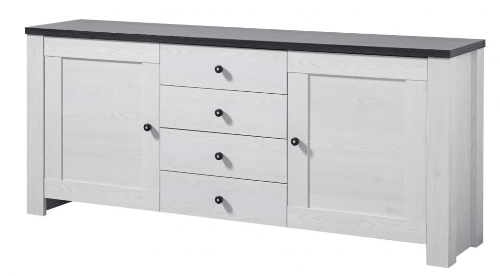 antwerpen sideboard l rche dekor kommode anrichte regal schrank sch ner wohnen sideboards. Black Bedroom Furniture Sets. Home Design Ideas