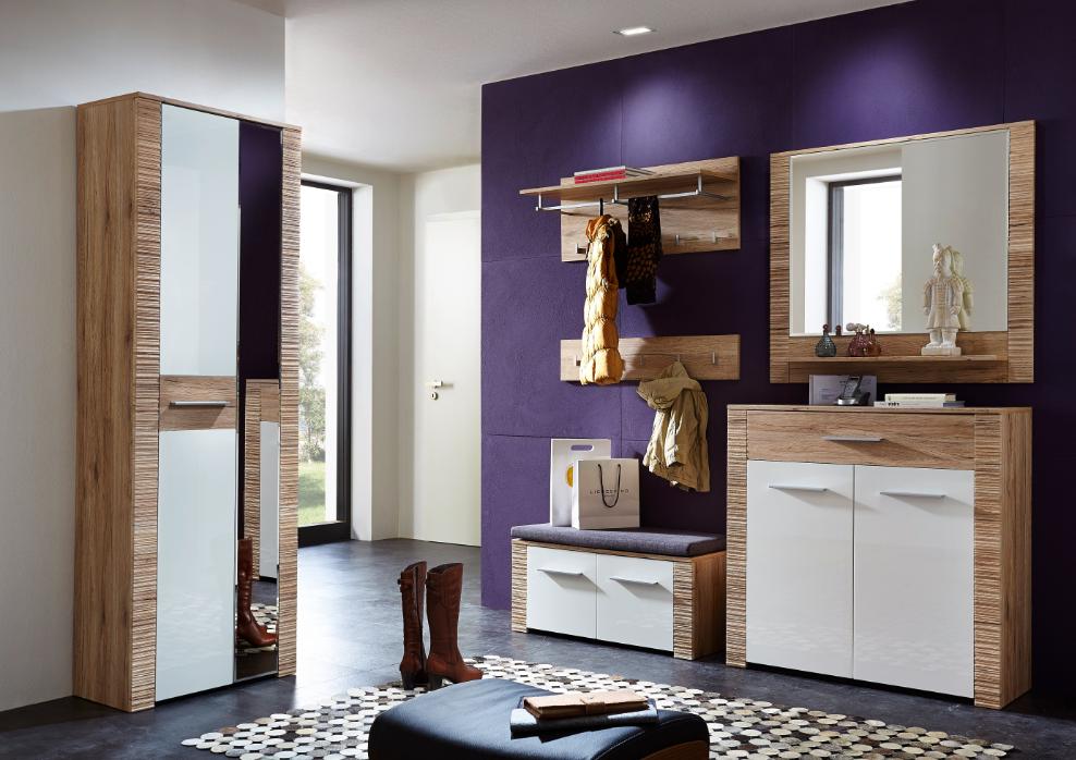 contest x garderobenschrank san remo eiche hell dekor. Black Bedroom Furniture Sets. Home Design Ideas