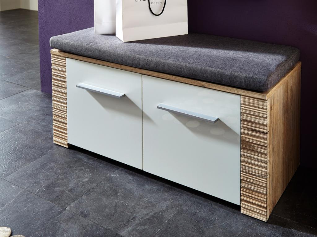 contest x sitzbank san remo eiche hell dekor bank. Black Bedroom Furniture Sets. Home Design Ideas