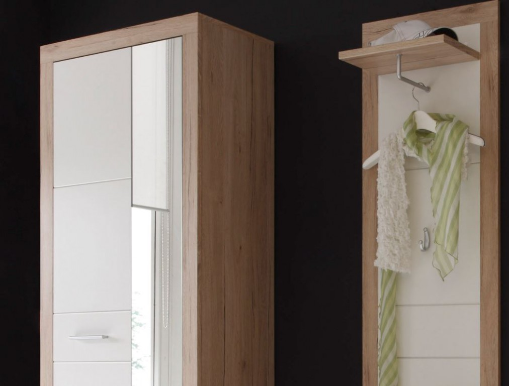 3 tlg garderobe can can dielenm bel kompaktgarderobe san remo cancan diele flur garderobe - Garderobe dielenmobel ...