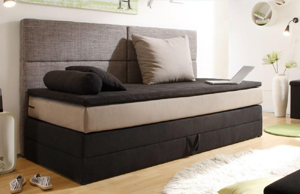 liege mit bettkasten 90x200. Black Bedroom Furniture Sets. Home Design Ideas