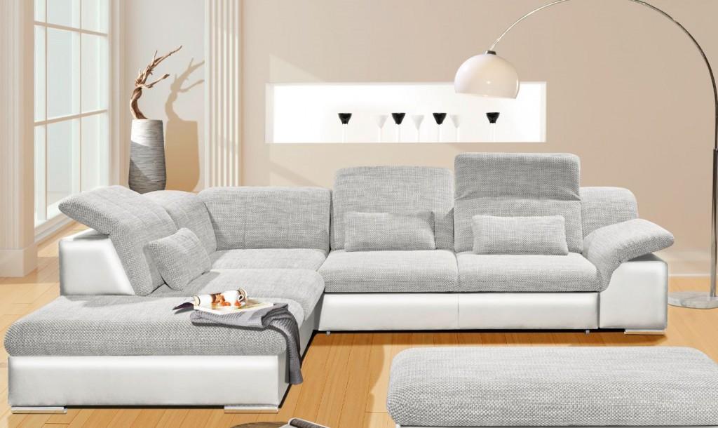 arizona ecksofa eckgarnitur couch sofa lederoptik eckcouch. Black Bedroom Furniture Sets. Home Design Ideas