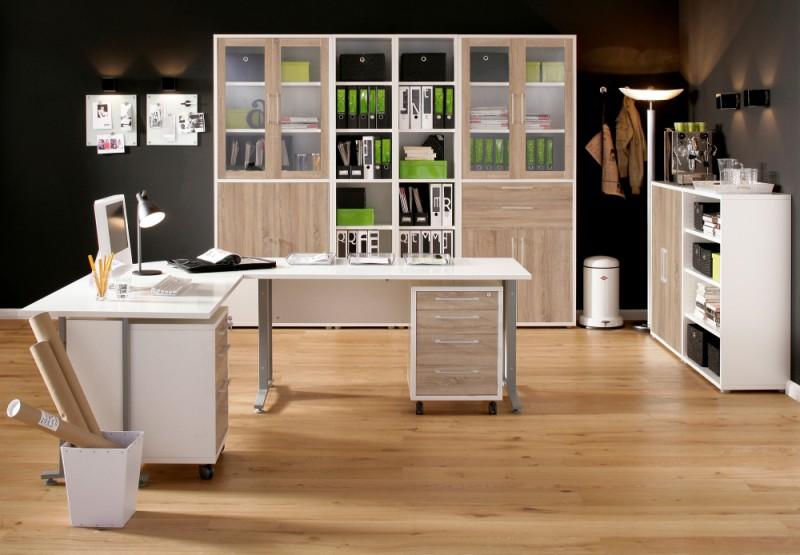 b ro komplett set b rozubeh r. Black Bedroom Furniture Sets. Home Design Ideas