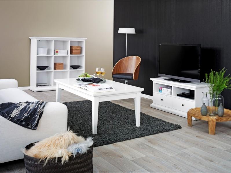 Tvilum Paris Wohnzimmer Komplett Wohnzimmerset Regal TV